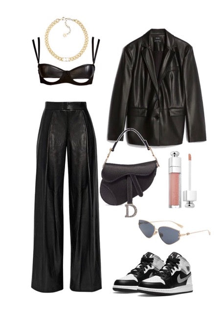 leather and suede half cup wired balcony bra outfits inspo