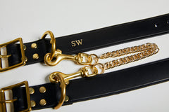 Personalised real leather fetish accessories