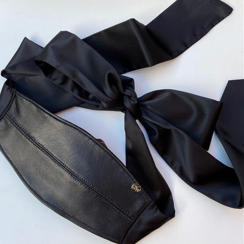 Real Leather Blindfold