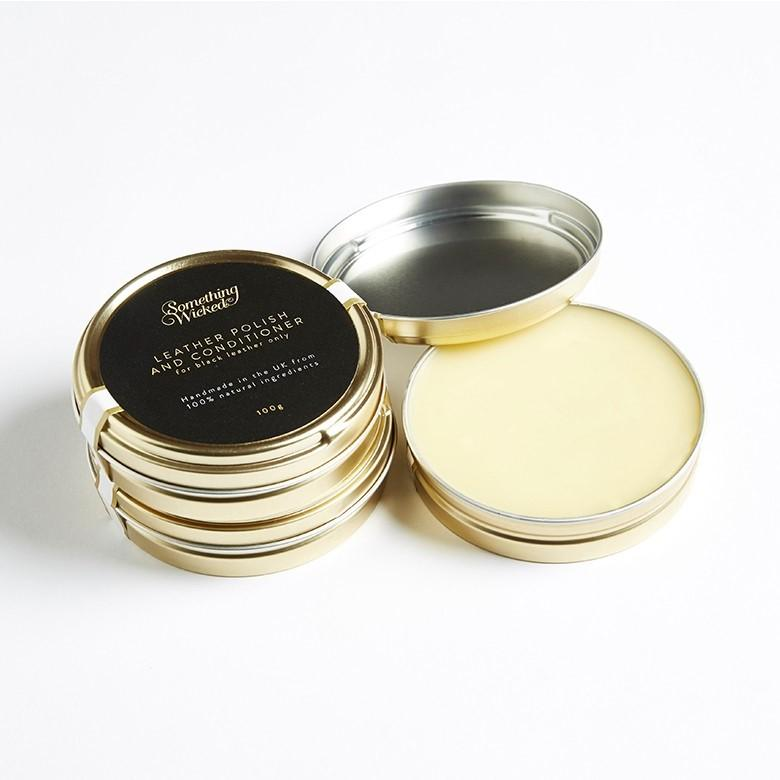 100% Natural ingredients are all you will find in this luxurious leather polish handmade from beeswax neutral
