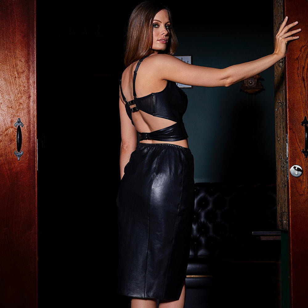 Load image into Gallery viewer, Lexi Leather Skirt