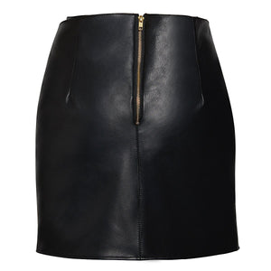 Load image into Gallery viewer, Mia Leather Skirt