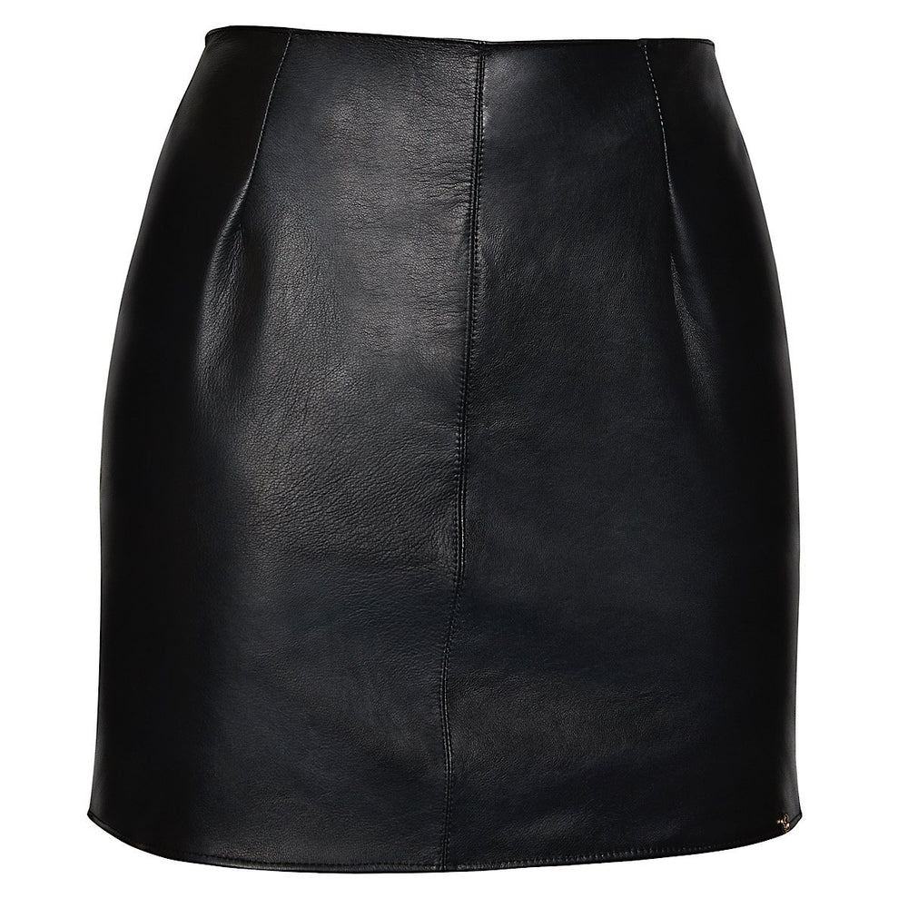 A stunning leather skirt handmade from the softest nappa, with a super flattering shape
