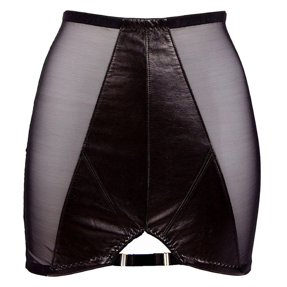 High end leather womens underwear hand crafted in the UK