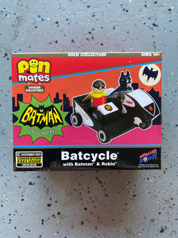 Batcycle Classic TV Batman by Pinmates