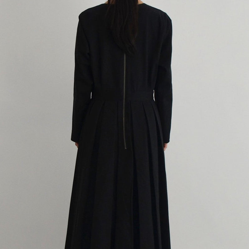 【THE DRESS #02】tuck one piece (タックワンピース)