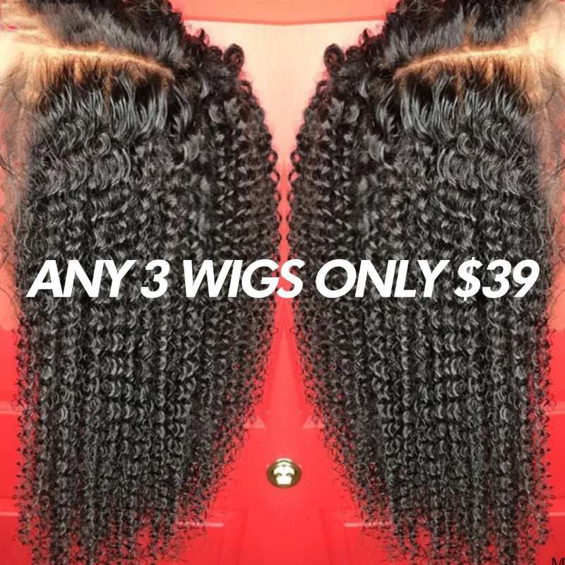 Brazilian Curly Hair Wig 13 * 4 Lace Frontal Hair Wig Pre-Harvest Natural Hairline Brazilian Curly Hair Wig Beaudiva Hair