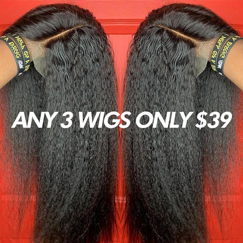 200 Density Glueless Full Lace Wigs Brazilian Pre Plucked Full Lace Human Hair Wigs