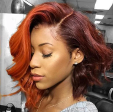 Brazilian Short Bob Body Wave Lace Front Wigs Human Hair Wig Remy Hair Bob Wig With Boby Hair Pre Plucked Bleached Knots Color Wigs