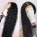 Pre-Plucked Hair Line Water Wave Human Hair Wig