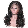 360 Pre Plucked Lace Frontal Wig With Baby Hair Around Body Wave Lady Wig