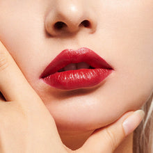 Load image into Gallery viewer, Burgundy Red Satin Lipstick