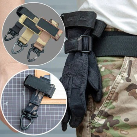 Glove Hook Hanging Buckle For Tactical Gloves