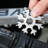 Shop Modern® 18-in-1 Stainless Steel Snowflakes Multi-Tool