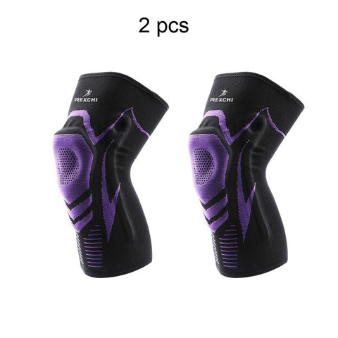 Basketball Knee Pads with Silicone Padded Elastic