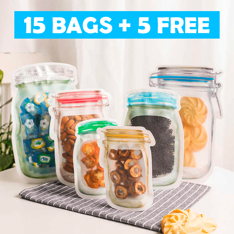 REUSABLE FOOD STORAGE BAGS - Shop Modern Co™