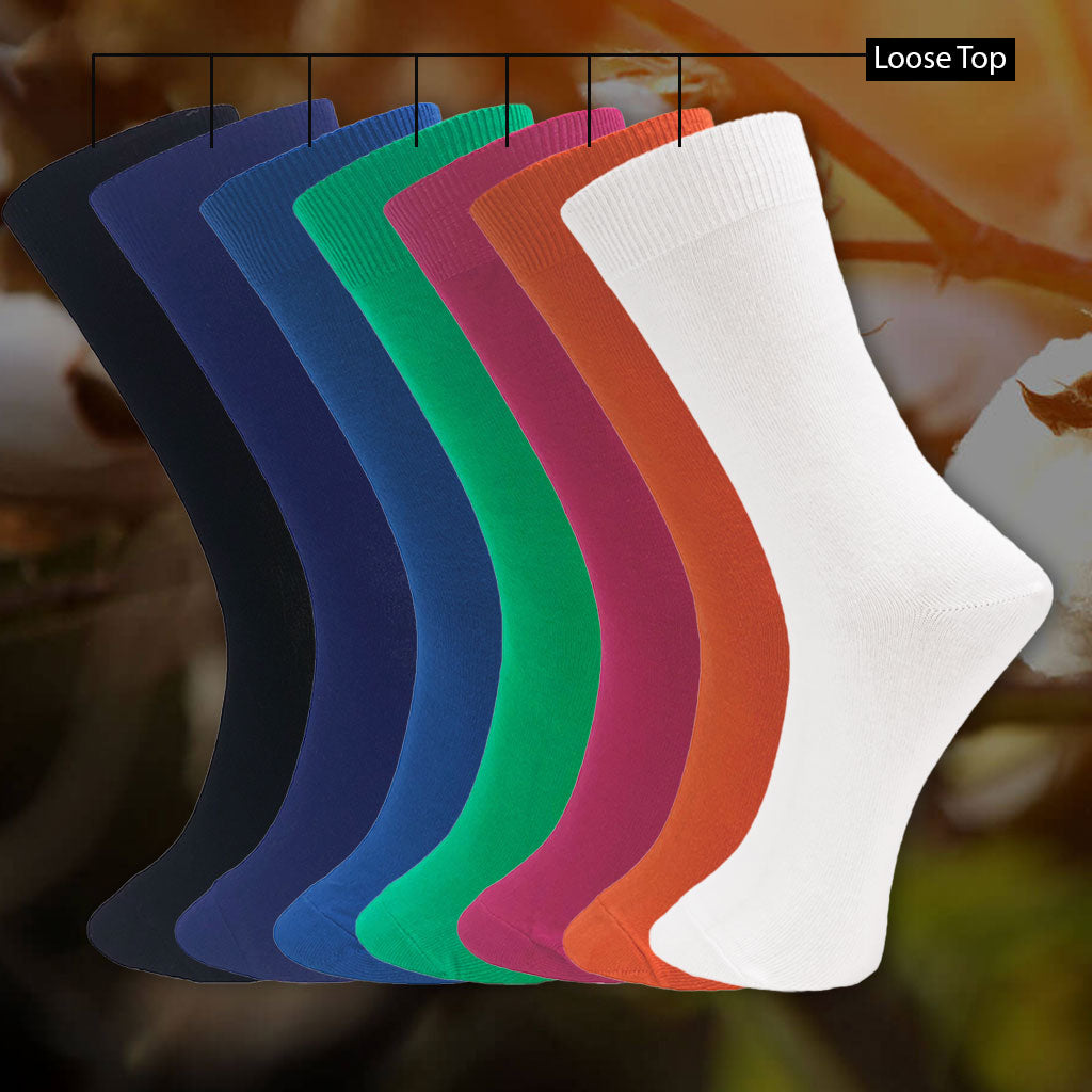 Cotton Health/Loose Top Sock King Size