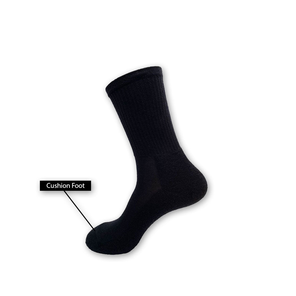 Merino Business Cushion Foot Sock