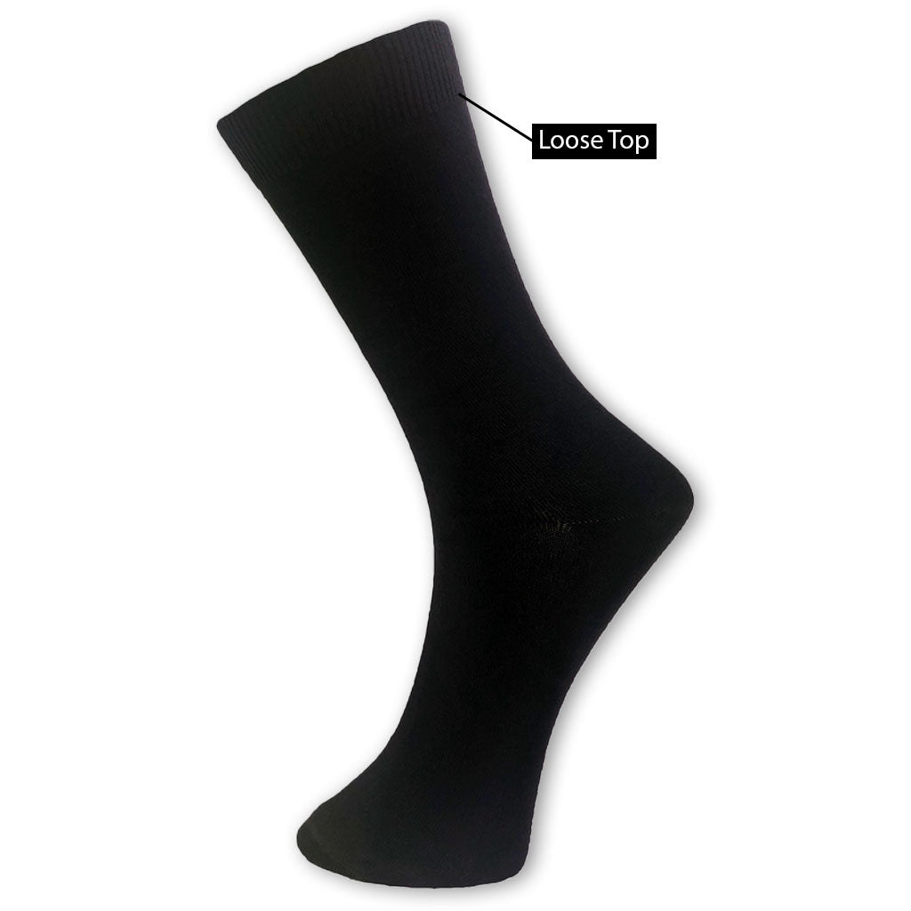 Bamboo Health/Loose Top Sock