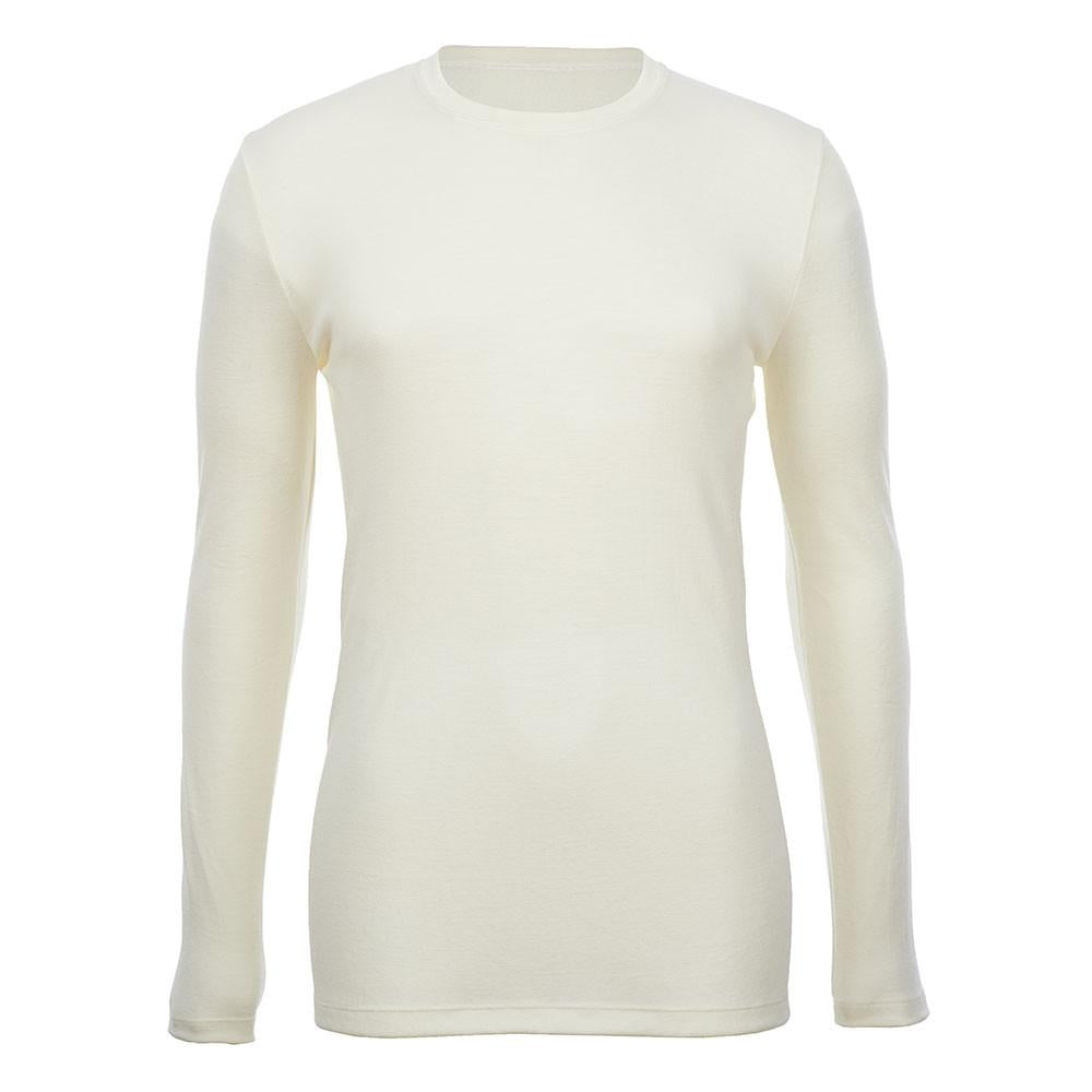 Thermo Fleece® – Men's Long Sleeve Top – 100% Merino Wool