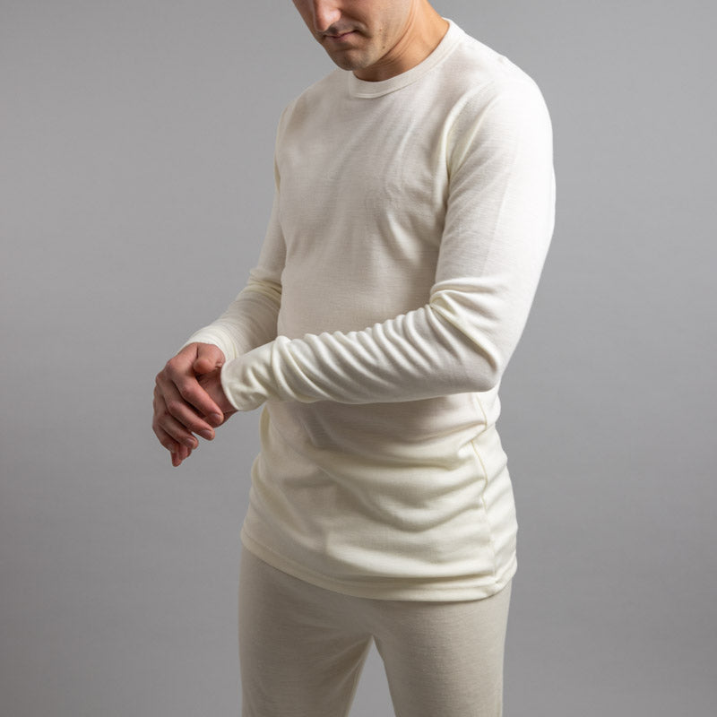 Merino Skins – Unisex Long Sleeve Crew Neck
