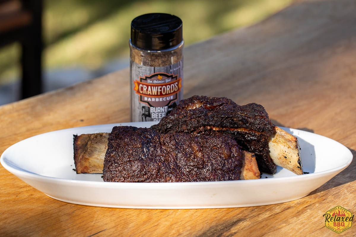 Crawford's Burnt Beef short ribs