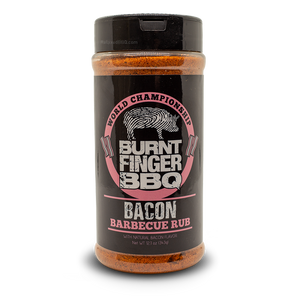 Burnt Finger Rub 12.1oz Burnt Finger - Bacon Barbecue Rub