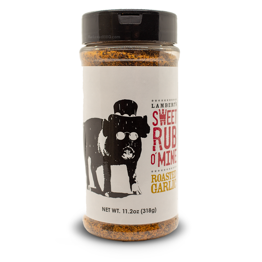 Sweet Rub O' Mine Rub 11.2oz Lambert's Sweet Rub O' Mine - Roasted Garlic