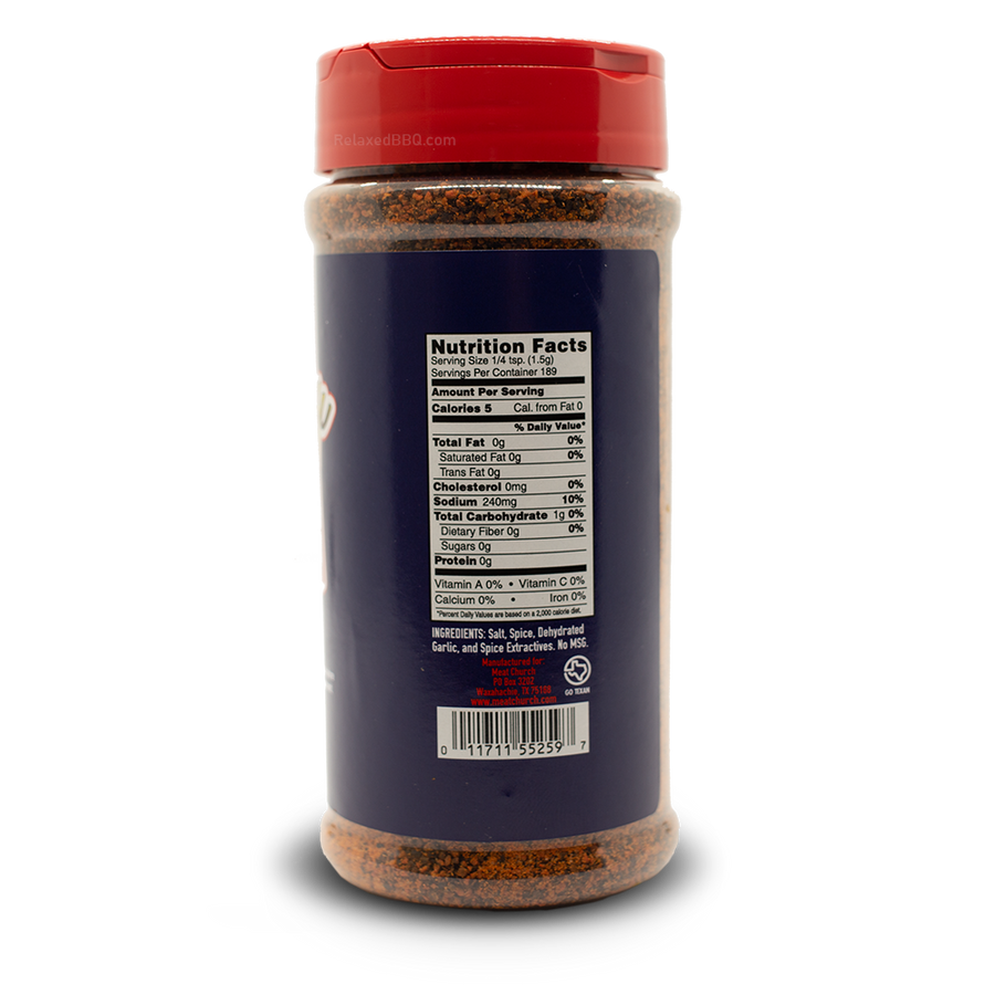 MeatChurch Rub 12oz Meat Church - Holy Cow