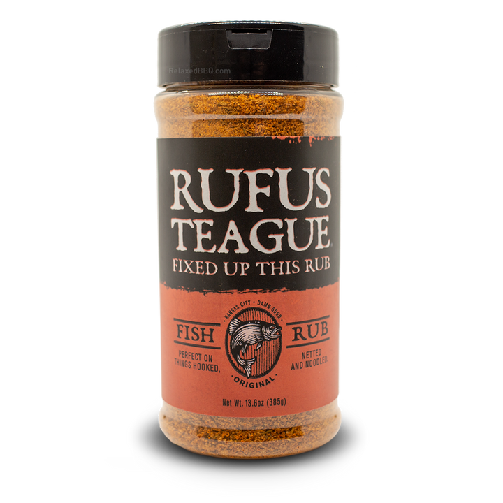 Rufus Teague Rub 13.6oz Rufus Teague - Fish Rub