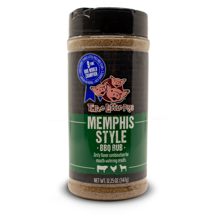 Three Little Pigs Rub 12.5oz Three Little Pigs - Memphis Style