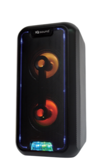Parlante Bluetooth® con luces LED intermitentes