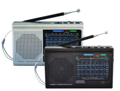 Radio Bluetooth® 9 bandas con AM / FM y SW1-7