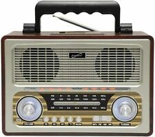 Radio Retro con Bluetooth