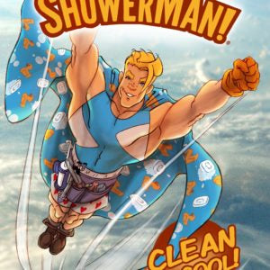 "Comic Book Bundle - Issues 1 & 2 - ""The Adventures of ShowerMan"""