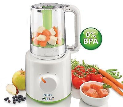 Phillips Avent Combined Steamer And Blender Bpa Free