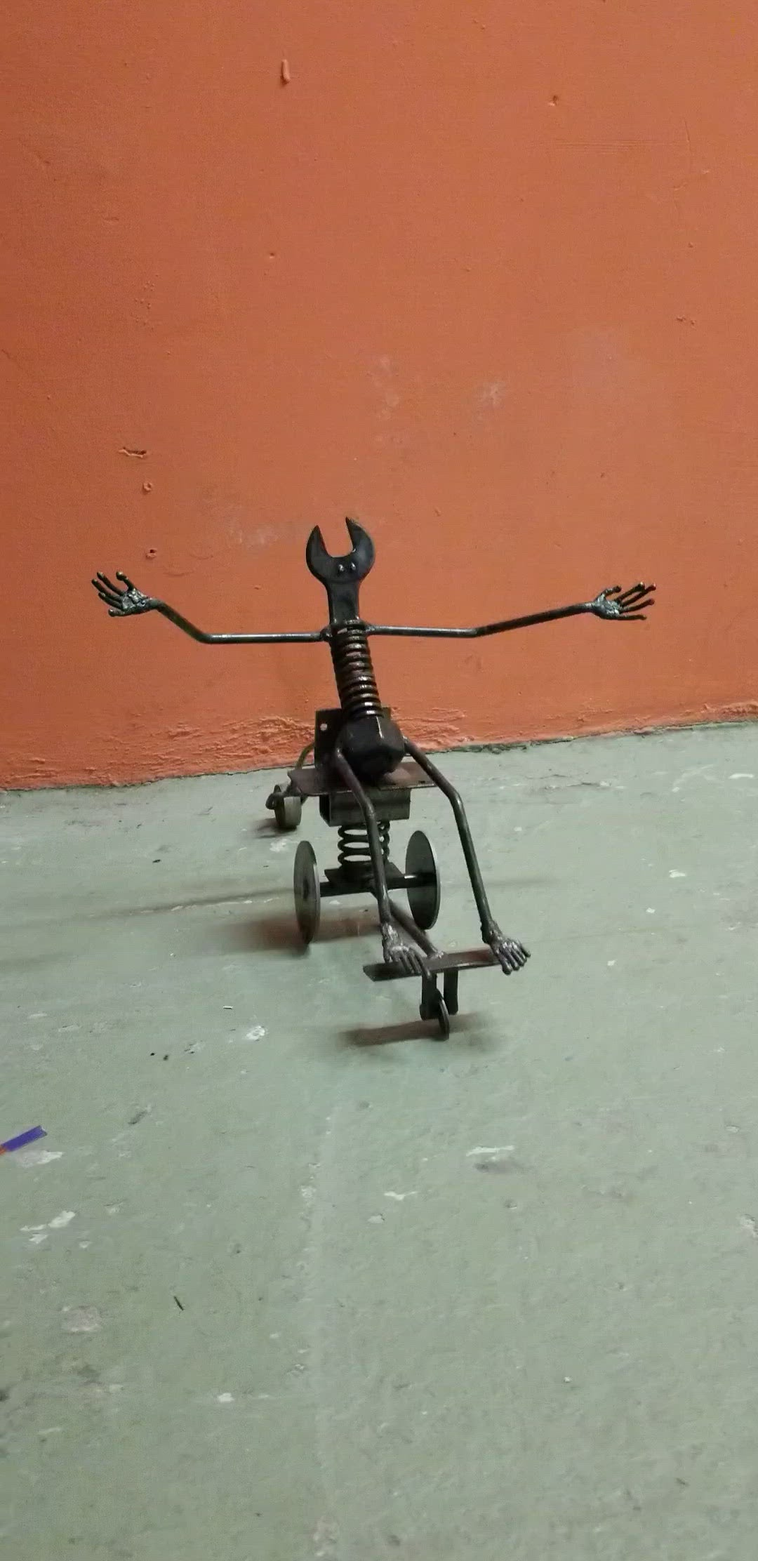 Pop-a-Wheelie Sculpture