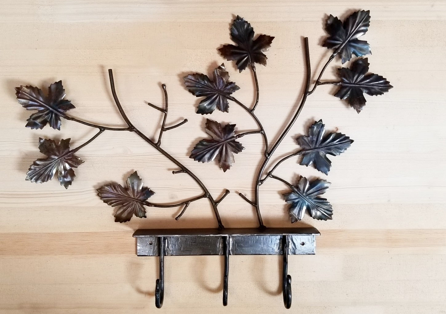Fall Leaves with 3 Hooks
