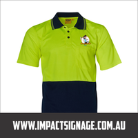 Hi Vis Shirt + Full Colour Logo Printing