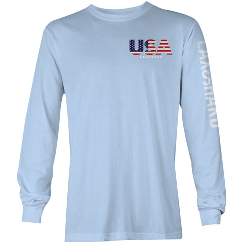 American Lacrosse Long Sleeve T-Shirt