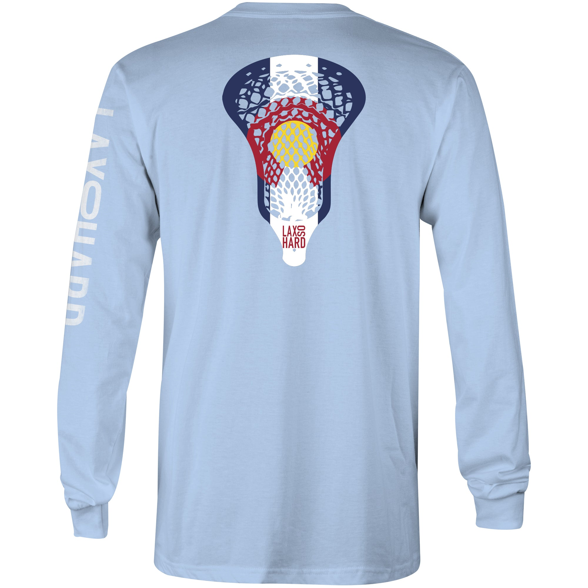 Youth Colorado Lacrosse Long Sleeve T-Shirt