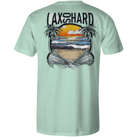 Boys Beach Lacrosse T-Shirt - Mint