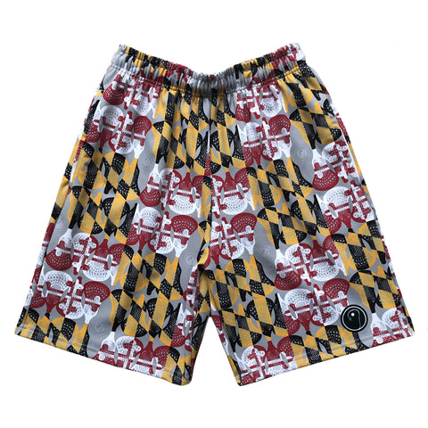 Mens Maryland Flag Lacrosse Shorts