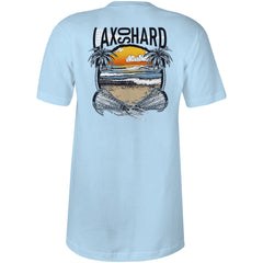Women's Beach Lacrosse V-Neck T-Shirt - Blue
