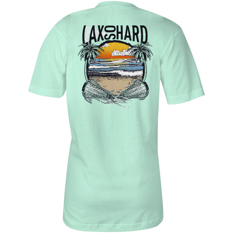 Women's Beach Lacrosse V-Neck T-Shirt - Mint