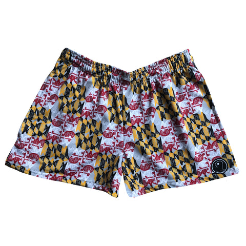 Womens Maryland Lacrosse Shorts