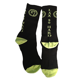 Performance Mid-Calf Lacrosse Socks - Black