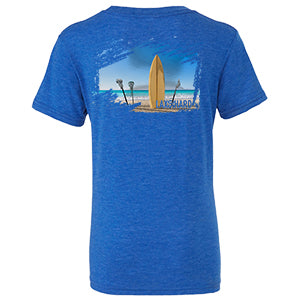 Boys Beach LAX T-Shirt - Royal