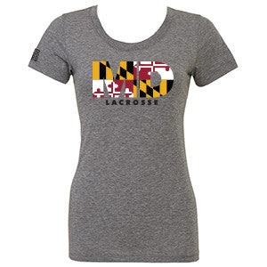 Womens Maryland Lacrosse T-Shirt
