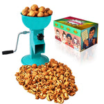 All-Steel Nut Cracker For All Nuts - Easy to Use and Portable - BLUE